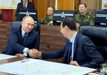 Yarın Türkiye'ye gelecekti! Putin, Esad'la görüştü