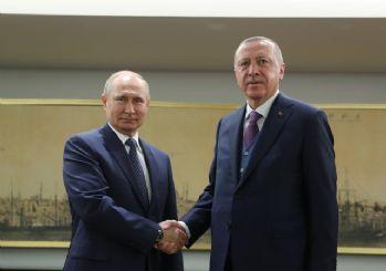 TürkAkım açılışı öncesi Erdoğan-Putin görüşmesi başladı