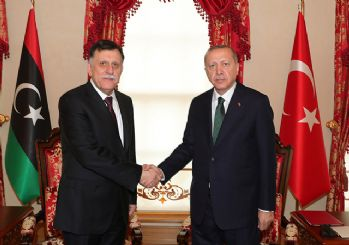 Cumhurbaşkanı Erdoğan ile Serrac görüşmesi sona erdi