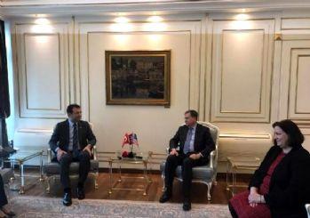 ABD Ankara Büyükelçisi İmamoğlu'nu ziyaret etti