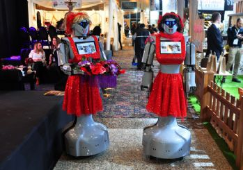 Konya'da üretilen robotlar kına gecelerinde de kullanılacak