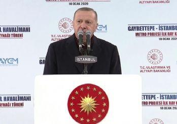 Erdoğan'dan İmamoğlu'na tepki: Ücretsiz süt vereceklerdi, nerede kaldı bu süt?