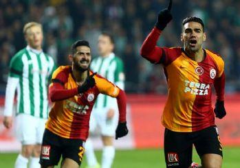 Galatasaray Konya deplasmanında zorlanmadı! 3-0