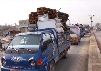 İdlib'den 21 bin sivil daha göç etti