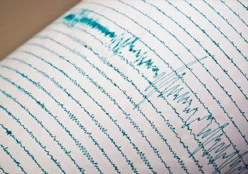 Akdeniz'de 5.8 büyüklüğünde deprem