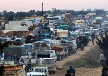 ABD: İdlib'den 700 bin kişi Türkiye'ye ilerliyor