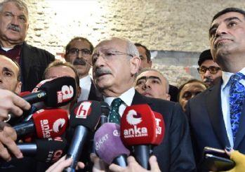 Kılıçdaroğlu, deprem bölgesinde