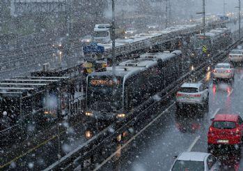AKOM uyardı: İstanbul 3 gün kar etkisinde kalacak