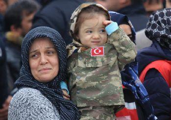 İdlib şehitleri Serkan Deprem ve Uğur Kurt'a veda