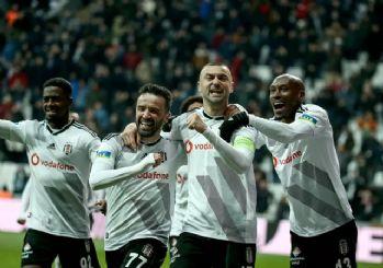 Beşiktaş, evinde Gaziantep'i mağlup etti