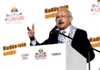 Kılıçdaroğlu: Sözde barış planı yüzyılın Haçlı zihniyetidir!