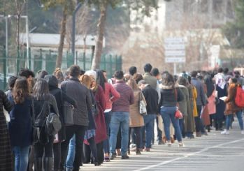 İşsizlik oranı yüzde 13.3'e, işsiz sayısı 4 milyon 308 bine yükseldi