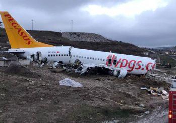 Sabiha Gökçen'deki kazada yardımcı pilot: Kule 'Pas geçin, inmeyin' talimatı vermedi