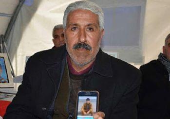 Diyarbakır'da nöbet tutan baba evladına kavuştu