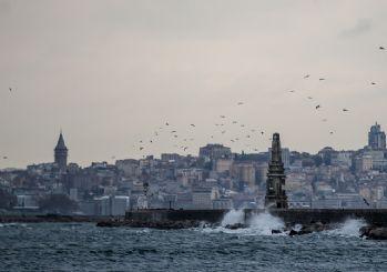 İstanbul için fırtına uyarısı