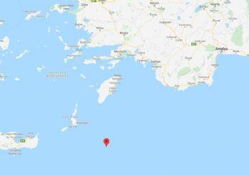Akdeniz'de 4.7'lik deprem