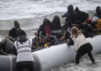 Midilli Adası'na göçmen akını