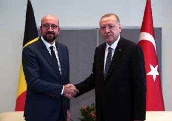 Cumhurbaşkanı Erdoğan, AB Konseyi Başkanı ile telefonda görüştü