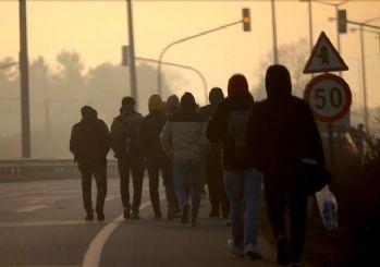 Sınırdan geçen göçmen sayısı açıklandı