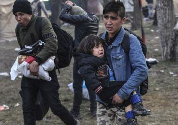 Yunan güçleri ile mülteciler arasında çatışma