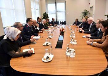 Cumhurbaşkanlığı Sözcüsü Kalın, Craft ve Jeffrey ile İdlib'i görüştü