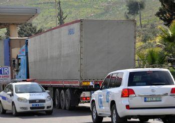 BM'den İdlib'e 23 tırlık insani yardım