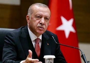 Cumhurbaşkanı Erdoğan: Merkel ve Macron ile Salı günü bir araya geleceğiz