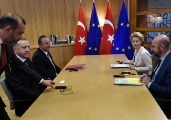 Cumhurbaşkanı Erdoğan'ın Brüksel'deki toplantıyı terk ettiği iddia edildi