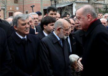 Şevket Kazan son yolculuğuna uğurlandı! Cenazeye Erdoğan ve Gül de katıldı