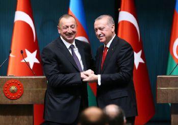 Erdoğan, Aliyev ile telefonda görüştü