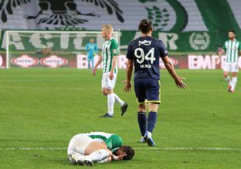 Konyaspor, 9 kişi kaldığı maçta Fenerbahçe'yi yendi