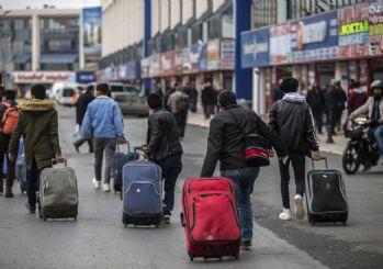 İstanbul'da otobüsle şehir dışına çıkışlar durduruldu