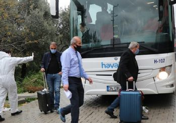 Belarus ve Katar'dan gelen Türk vatandaşları yurtlara yerleştirildi