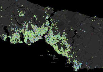 İstanbul'un koronavirüs haritası
