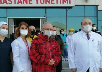 Prof. Dr. Oğuz Özyaral koronavirüsü yendi