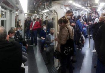 İzmirlileri metrodaki görüntü korkuttu