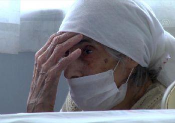 107 yaşında koronavirüsü yendi, alkışlarla uğurlandı
