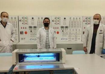 MEB, Ultraviyole-C hava sterilizasyon cihazı üretti