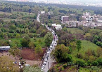 Bursa'da yasak öncesi su kuyruğu