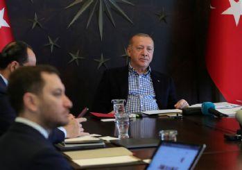 Erdoğan, A Milli Futbol Takımı oyuncularıyla görüştü