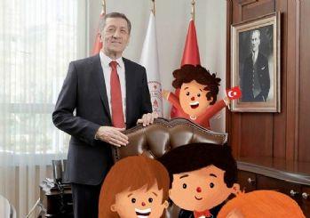 Milli Eğitim Bakanlığı'nda koltuk devri: Çizgi karakterler makama oturdu