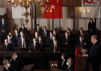 İlk Meclis'te tarihe geçecek maskeli tören