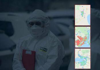 İşte Türkiye'nin corona virüs haritası! İl il Covid-19 haritası son durum