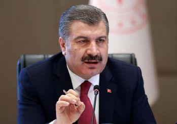 Sağlık Bakanı Fahrettin Koca, günlük koronavirüs tablosunu açıkladı