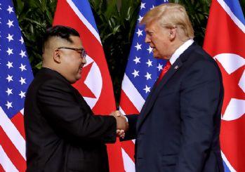 Trump: Kim Jong-un'un iyi olduğunu görmekten memnunum