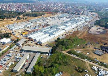 Erdoğan paylaştı: İşte salgın hastanelerinin ilk görüntüleri