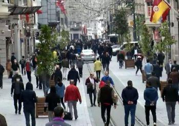 Sağlık Bakanı, İstiklal Caddesi'nden fotoğraf paylaştı