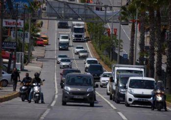 Bodrum'a kısıtlama sonrası 6 bin araç giriş yaptı