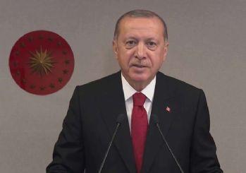 Cumhurbaşkanı Erdoğan, Çanakkale 1915 Köprüsü Kule Tamamlama Töreni'nde