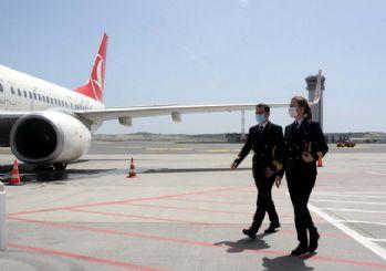 THY 19 Mayıs özel uçuşu tamamlandı: TK1919